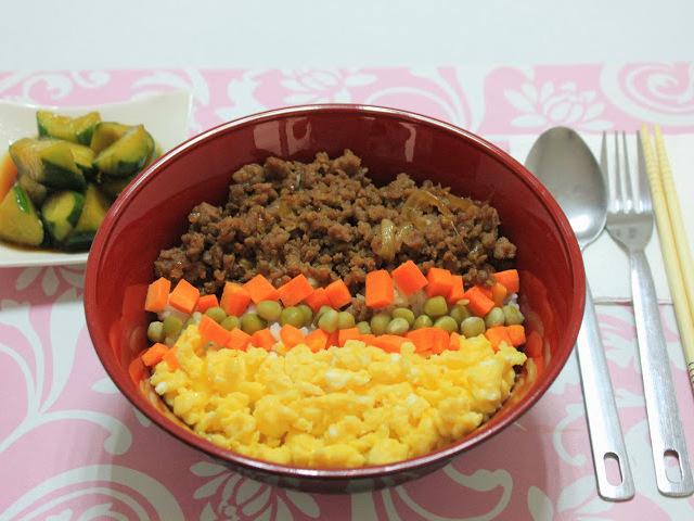 日本資本の語学学校の食事例