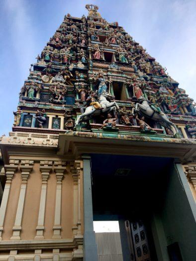 C.Mさん スリマハマリアマン寺院写真