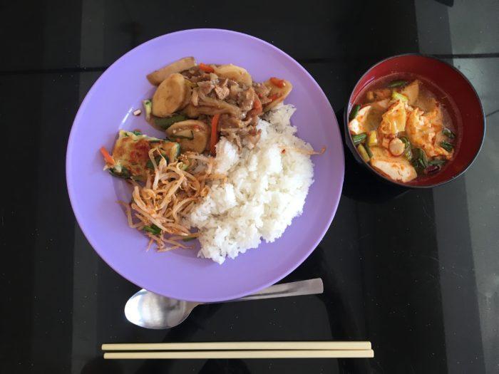 お昼ご飯 写真