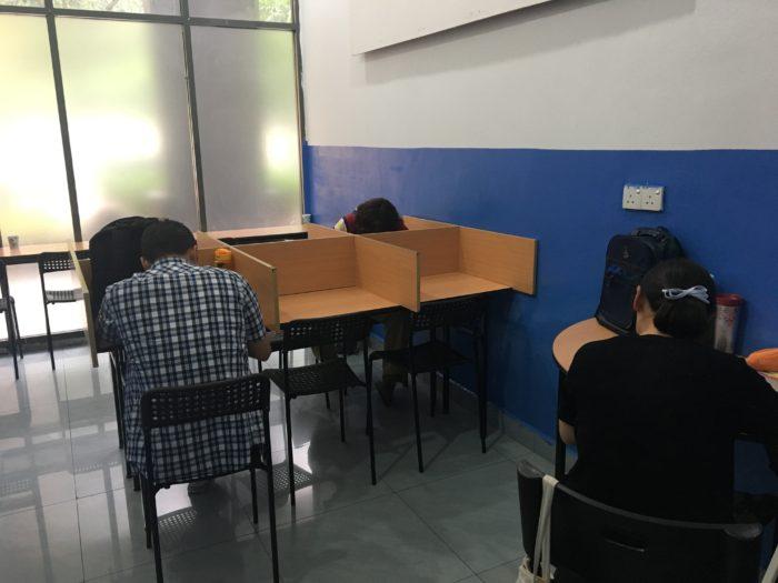 自習室 写真