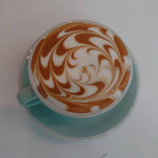 N.Kさんお気に入りのカフェラテ