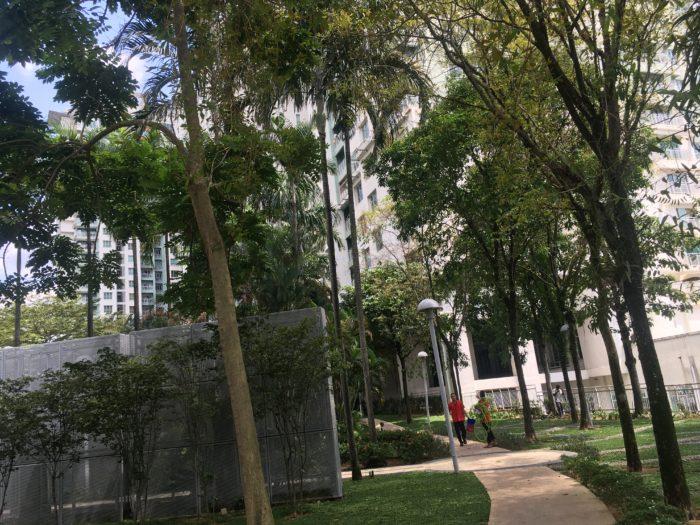 プレミアムタワー敷地