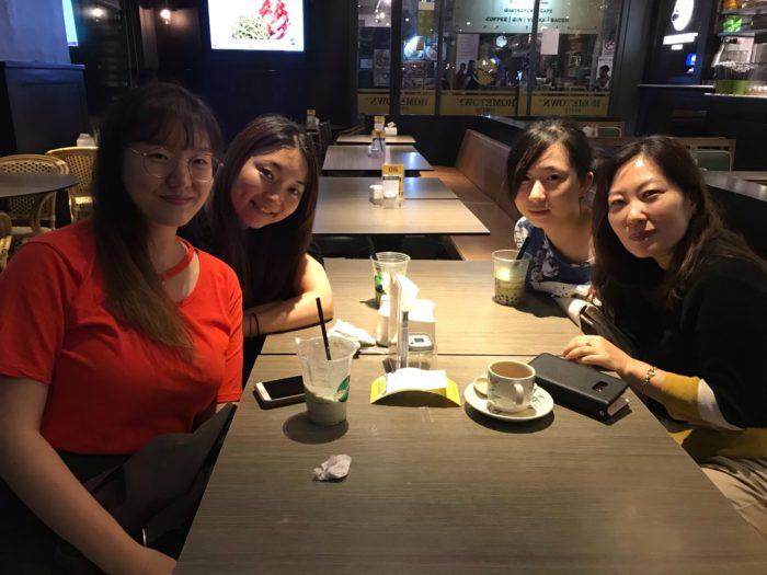 韓国人との食事